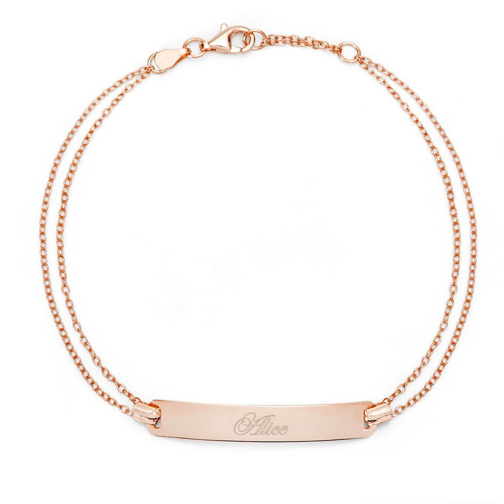 18K Rose Gold Plated