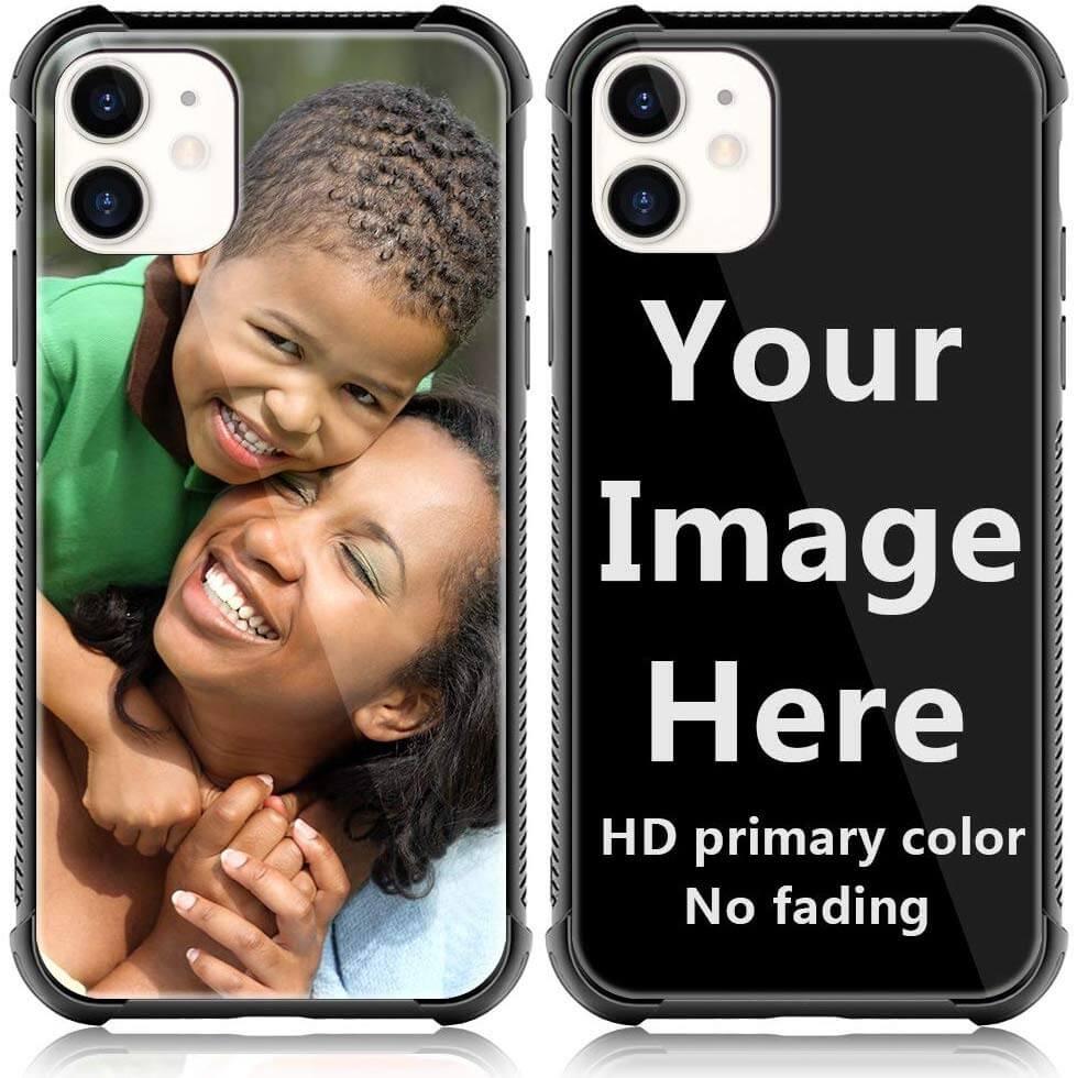 Iphone 11 Custom Glass Cover Photo Phone Case