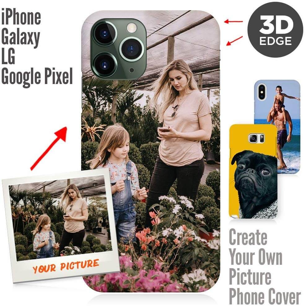 Iphone 11 Pro 3D Matte Custom Photo Phone Case