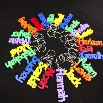 Bulk Personalized Name Keychain Children's Bag Tag Keychain