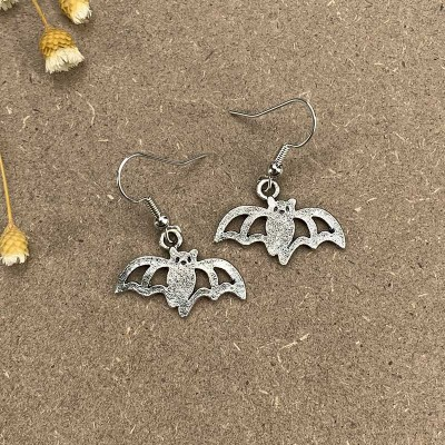 Halloween Bat Earrings Gift For Her