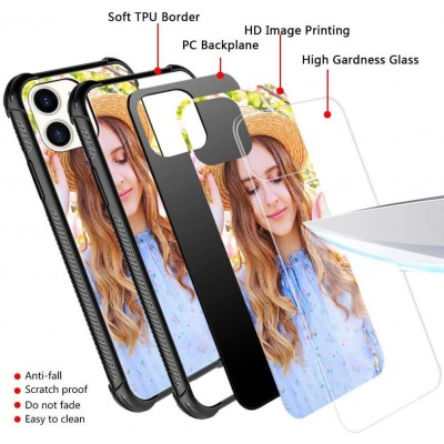Iphone 11 Custom Glass Cover Photo Phone Case