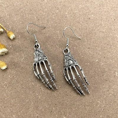 Halloween Skeleton Hand Earrings Gift For Her